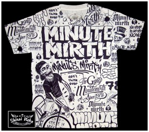 minute mirth t-shirt